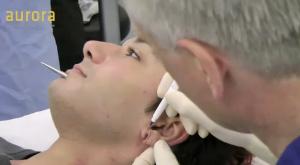 Aurora Clinics: Photo showing earlobe repair surgery