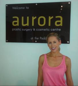 Aurora Clinics: Photo showing Breast Enlargement Patient Samantha